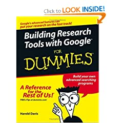 Building Research Tools With Google For Dummies E Book H33T 1981CamaroZ28 preview 0