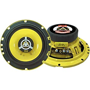 PYLE PLG6.3 6.5-Inch 280-Watt 3-Way Speakers