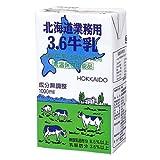 森永 (常温保存) 北海道業務用3.6牛乳 (1Lx12)     (賞味期限H11年5月19日)