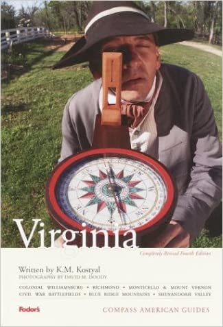 Compass American Guides: Virginia, 4th Edition (Full-color Travel Guide)