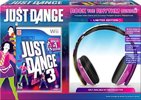 Just Dance 3 Rock the Rhythm Bundle