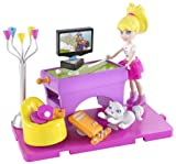 Polly Pocket Stick/ Play Polly Game Room