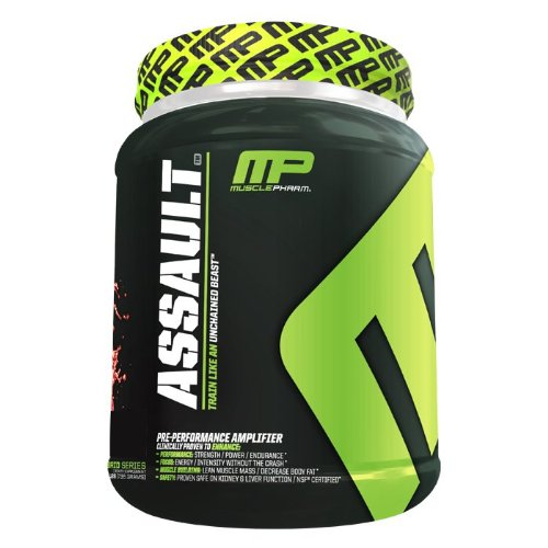 MusclePharm Assault - 32 Servings - Watermelon - Exclusive