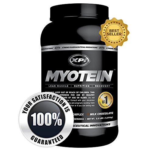 Myotein (Chocolate) - Best Whey Protein Powder / Shake - Great Tasting Protein Powder for Weight Loss & Muscle Growth - Hydrolysate, Isolate, Concentrate & Micellar Casein