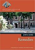 Bar Manual: Remedies 2005/6 (Blackstone Bar Manual)