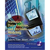 Statistics, Data Analysis and Decision Modeling and Student CD-ROM (2nd Edition)