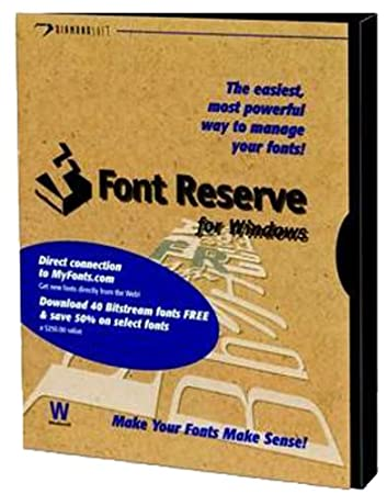 Extensis FONT RESERVE 2.6 WIN STAND ( FRE-14500 )