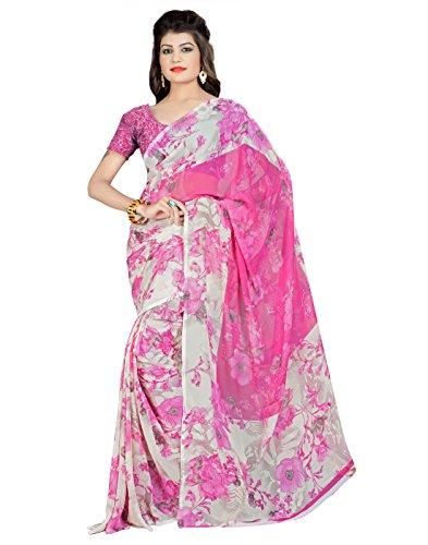 DivyaEmporio PRINTED India Bazaar Saree