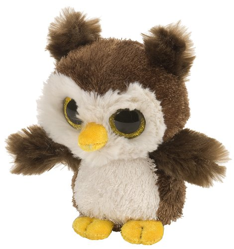 Wild Republic L'Il Sweet & Sassy Owl Root Beer Plush