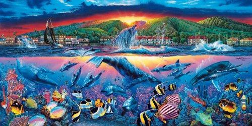 Cheap Clementoni Lahaina Vision Lassen Jigsaw Puzzle 13200pc (B0002LIF90)