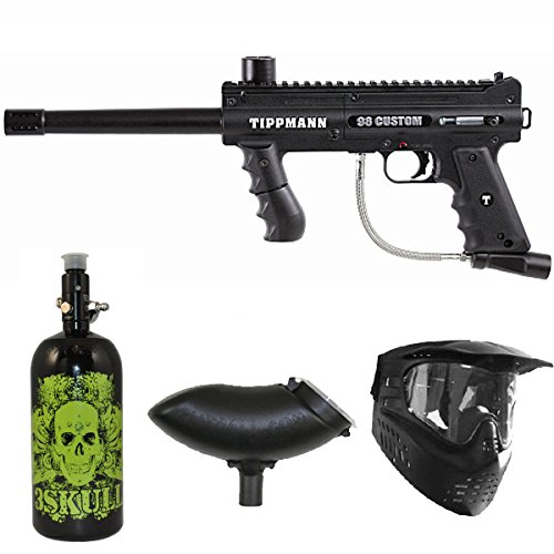 Tippmann 98 Custom PS Paintball Marker Gun 3Skull N2 Package