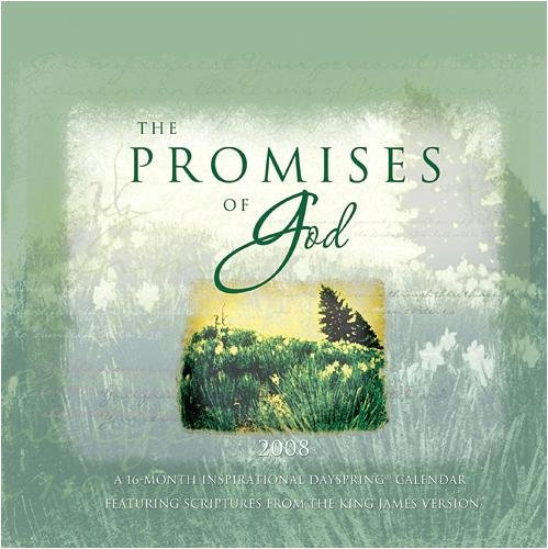The Promises of God 2008 Mini Wall Calendar - Buy The Promises of God 2008 Mini Wall Calendar - Purchase The Promises of God 2008 Mini Wall Calendar (DaySpring, Office Products, Categories, Office & School Supplies, Calendars Planners & Personal Organizers, Wall Calendars)
