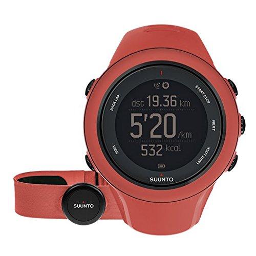 Suunto Ambit3 Sport Coral (Hr) - Reloj de entrenamiento GPS, color amarillo