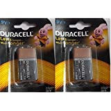 Duracell Alkaline Battery 9v1 Pack Of 2 (2 Cell)