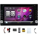 Latest Version ! 800MHZ CPU !!! 6.2 Inch Car DVD Player Digital Touch Screen Stereo Bluetooth GPS Navigation Radio...