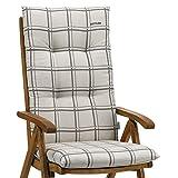 1 Kettler Gartenmöbel Auflage für Hochlehner Sessel Dessin 796 in