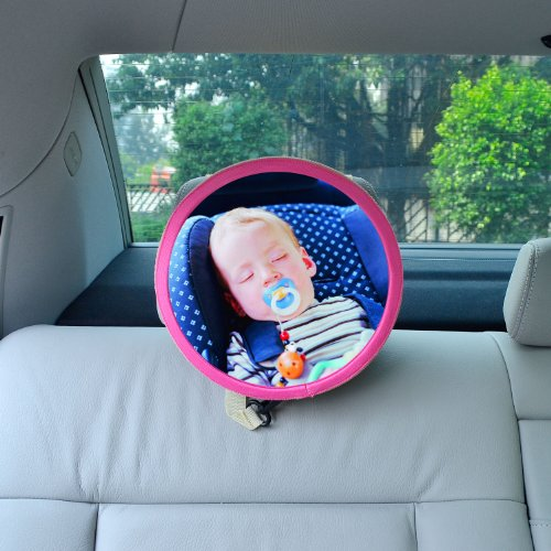save tfy see my baby rear facing car seat safety mirror pink 847162003377. Black Bedroom Furniture Sets. Home Design Ideas