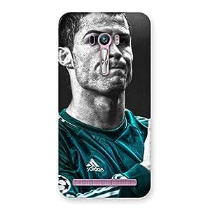 Ajay Enterprises Div Soccer Calmatars Back Case Cover for Zenfone Selfie