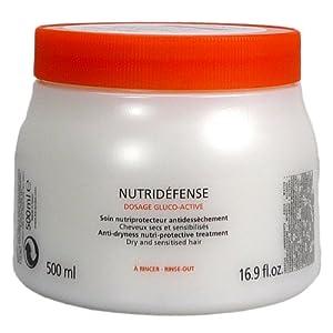 KERASTASE by Kerastase: NUTRITIVE NUTRIDEFENSE MASQUE FOR DRY AND SENSITISED HAIR 16.9 OZ