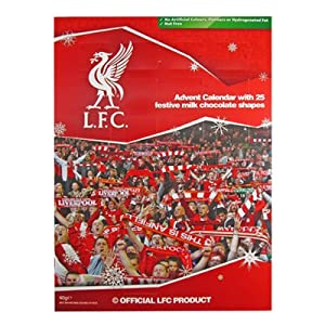 liverpool fc football club christmas xmas advent calendar