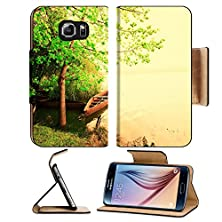 buy Msd Samsung Galaxy S6 Flip Pu Leather Wallet Case The Magical Infrared Efex Image 32700076