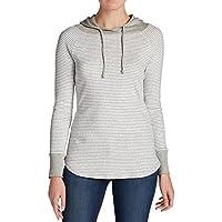 Eddie Bauer Women's Favorite Pullover Hoodie (Stripe)