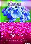 Postkartenbuch Blumen/besonderere Anl...