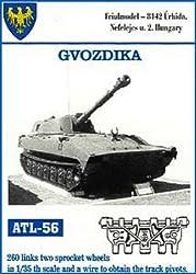 Friulmodel Atl56 1/35 Metal Track W/Drive Sprockets For 2 Sl Gvozdika.