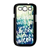 Happy Life Be Yourself Back Cover Case for Samsung Galaxy S III S3 I9300 I9308 I939