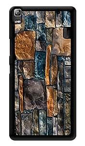 "Humor Gang Brick Wall Pattern Printed Designer Mobile Back Cover For ""Lenovo k3 note - Lenovo A7000 - Lenovo A7000 Plus - Lenovo A7000 Turbo"" (3D, Glossy, Premium Quality Snap On Case)"