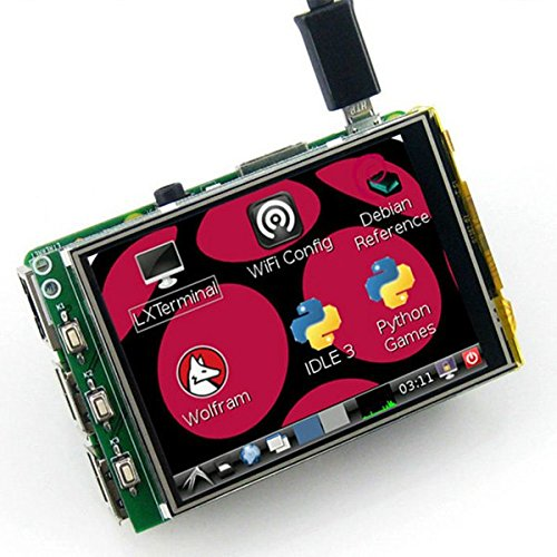 3.2 Inch TFT LCD Display Module Touch Screen For Raspberry Pi B+ B A+ (Psp Laser Cleaner compare prices)