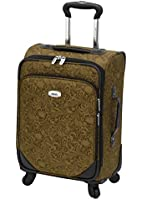 Amelia Earhart Charisma 360SL Collection 20 Inch Expandable Spinner Carry-On