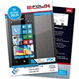 AtFoliX FX-Clear Premium Display Protection Film for Huawei Ascend W1 Crystal-Clear Pack of 3