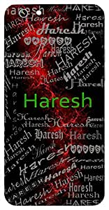 Haresh (Lord Shiva) Name & Sign Printed All over customize & Personalized!! Protective back cover for your Smart Phone : Samsung Galaxy A-5