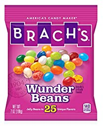 Brach\'s Wunder Beans Candy, 7 Ounce, Pack of 12