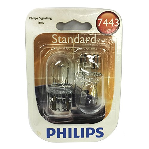 Philips Side Marker Light Bulb 7443B2 (7443 Bulb Philips compare prices)