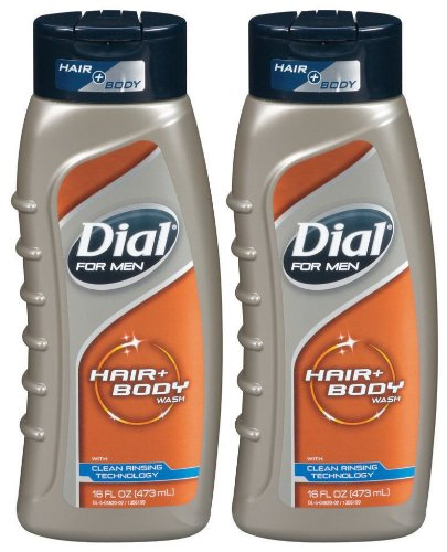 Dial For Men Ultimate Clean Hair & Body Wash, 16 oz, 2 pk (Dial Mens Hair And Body Wash compare prices)