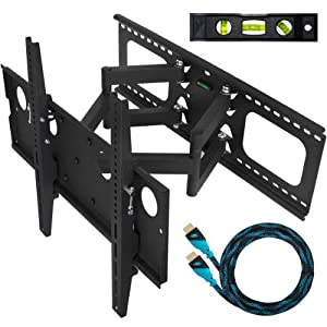 Sale cheetah mounts plasma lcd flat screen tv articulating for Best 65 tv wall mount