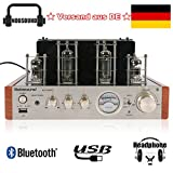 Nobsound MS-10D MKII Tube Amplifier Bluetooth / USB / Headphone Amp BASS&TREBLE HiFi Verstärker Audio Receiver Stereo Röhrenverstärker for TV / Computer / Walkman / Notebook /Tablet PC / Mobile phone / CD / DVD / MP3 /Music player