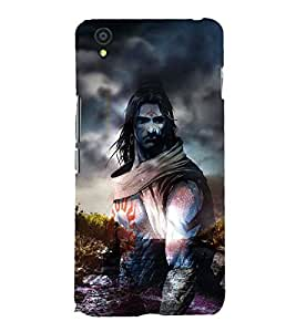 Shiva 3D Hard Polycarbonate Designer Back Case Cover for OnePlus X :: One Plus X :: One+X