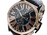 サルバトーレマーラ SALVATORE MARRA クオーツ メンズ 腕時計 SM14123-PGBK [並行輸入品]