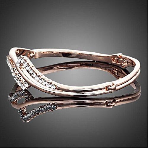 lorelys cadeau pour femme el gante bracelet cristal autrichien incrust e de cristaux. Black Bedroom Furniture Sets. Home Design Ideas