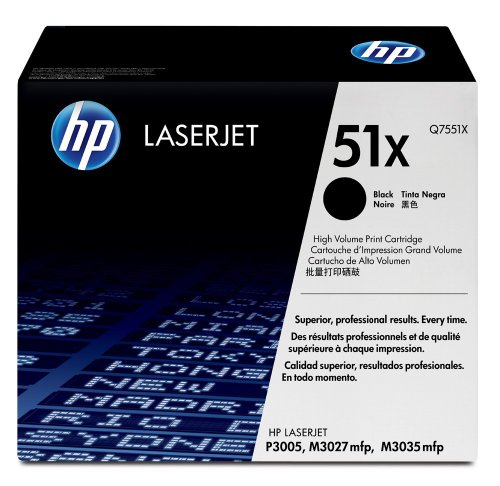 HP Q7551X Black print cartridge for hp laserjet p3005/m3035 mfp