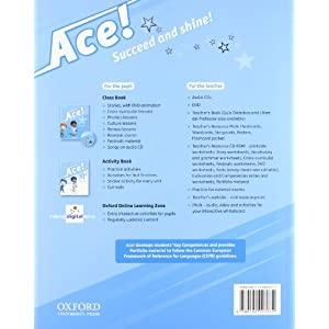 Pack Ace! 2. Class Book And Songs (+ CD)