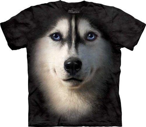 The Mountain Siberian Husky T-shirt