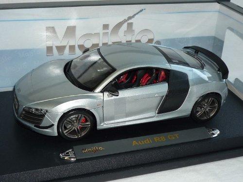 Audi R8 R 8 GT Silber Coupe 1/18 Maisto Modellauto Modell Auto