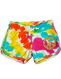 Flowers by Zoe - Baby Girls Tie Dye Shorts, Multi 33101-24Months