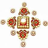 Ghasitaram Gifts Traditional Pearl Rangoli
