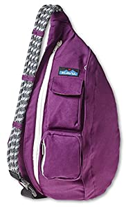 KAVU Rope Bag, Plum, One Size