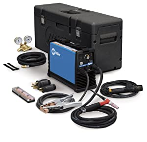 Maxstar 150 STL TIG Welder, DC, 1- Phase, 5 - 150 A Type: W/PROT CASE & ACCY PACK 1 from Miller Electric Mfg Co